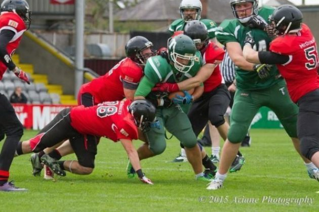 Ireland - Shamrock bowl 20154