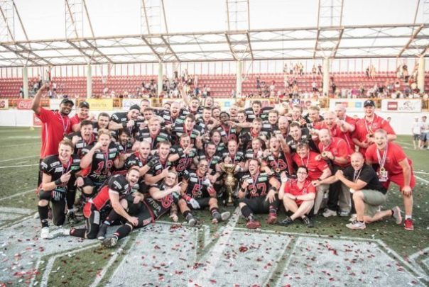 IFAF Europe - Champions League - Carlstad champs