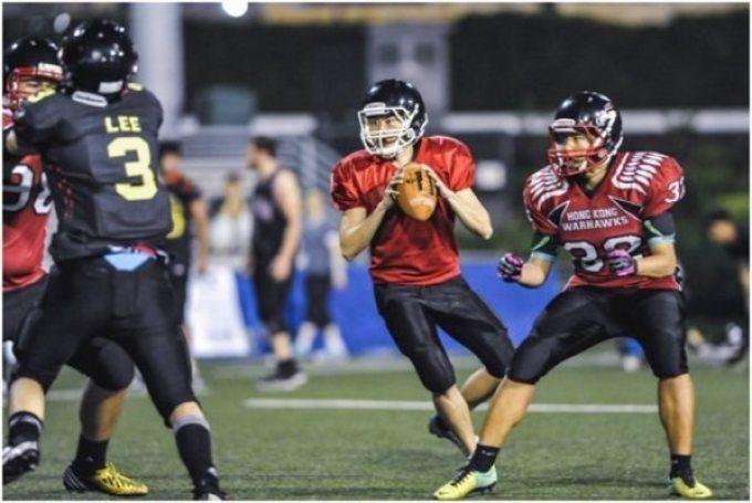 China - AFLC - qtrs - Warhawks-Tigers
