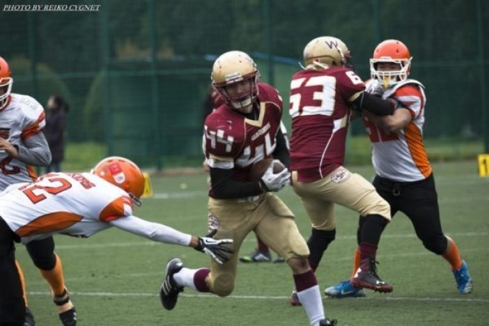 China - AFLC - semi - SH Warriors-Dockers 2015