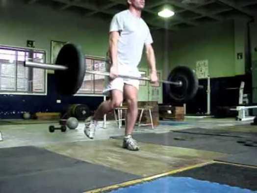 AFI - One leg hang clean