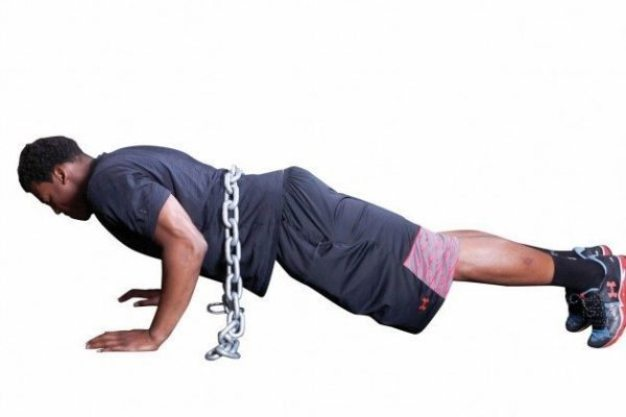 USA Football - 15 exercises - chain push up