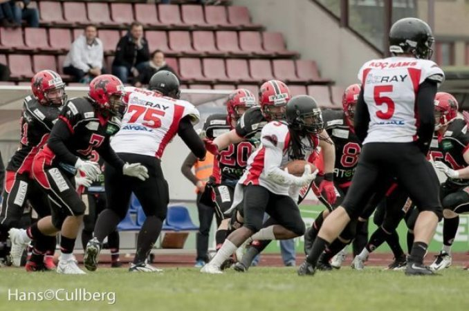 IFAF Europe - CL2016 - Rams-Crusaders - Strother