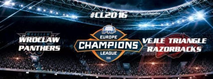 IFAF Europe - CL2016 - Wroclaw-Triangle banner