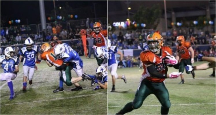 Israel - Rebels win Israel Bowl IX - 2pic