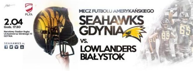 Poland - Gdynia Seahawks opening game poster 2016