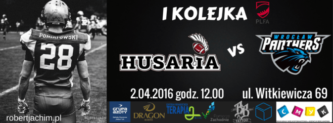Poland - Husaria v Panthers 2016 poster