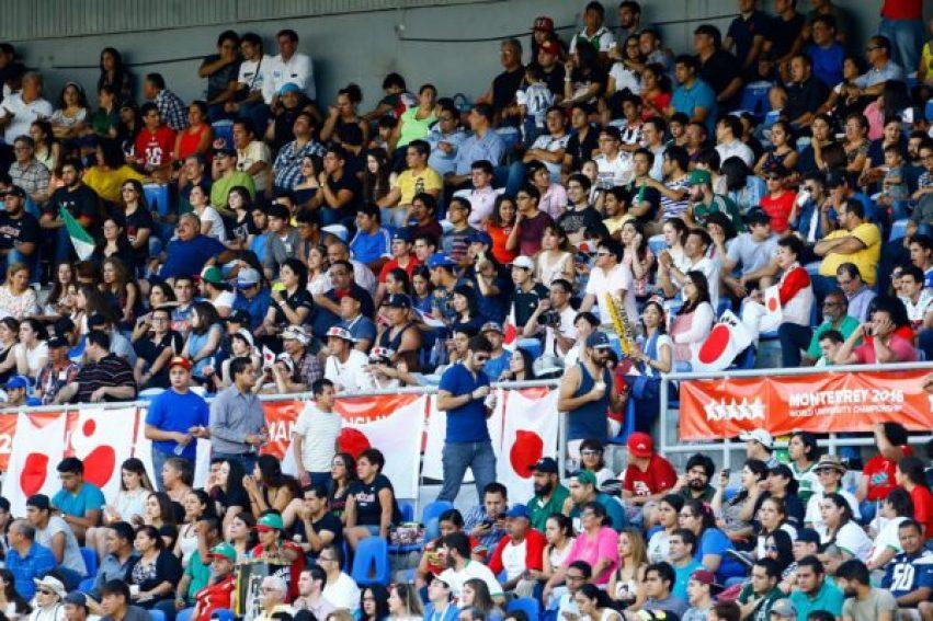 FISU - Mexico-Japan crowd - jorge reyes photo