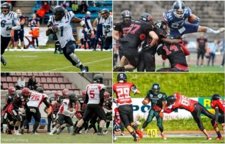 IFAF Europe - 2016 Champions League - Final Four