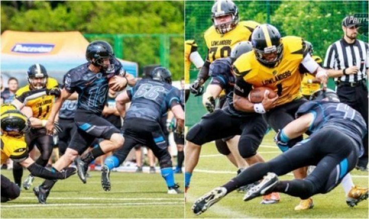 Poland - Panthers-Lowlanders action June 2016 - 2pic
