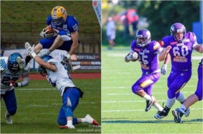 Austria - Vikings-Giants - 2pic - RBs