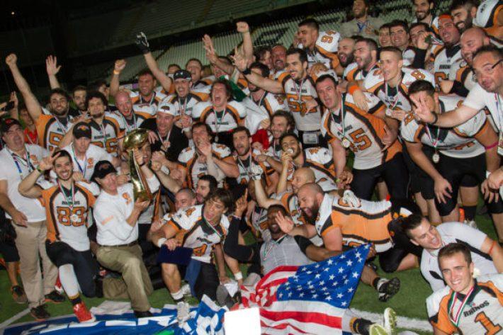 Rhinos Milano Campioni IFL 2016