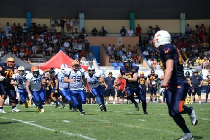 IFAF Europe - Spain v Israel qualifier - 6