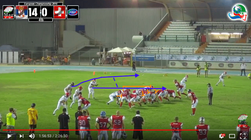 IFAF Europe - 2016 Qualifying tournament - Italy-Serbia - action6