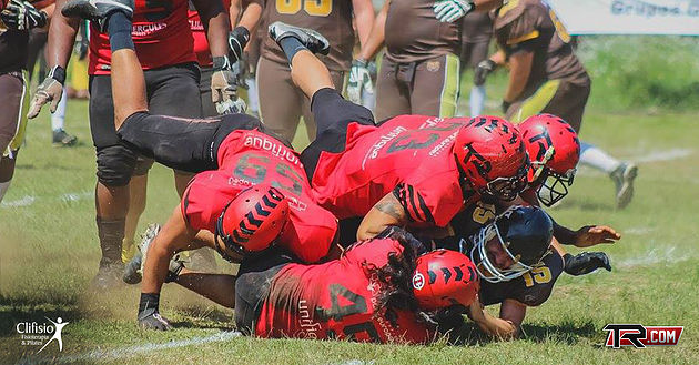 Timbo's defense has been smothering all season. Photo used with permission of Igor Rick and Timbo T-Rex