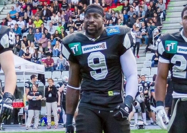 Former CFL, Austrian Football League LB Wendell Brown jailed in China