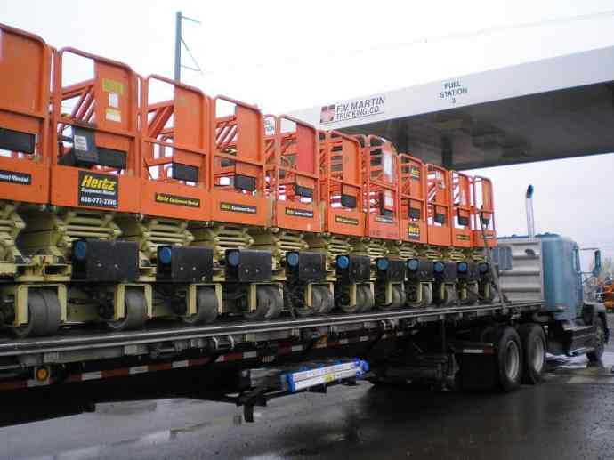 Flatbed with HiLifts