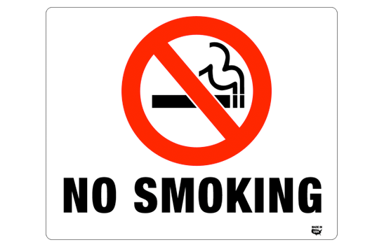 picture relating to No Smoking Sign Printable called No Smoking cigarettes Indicator Template. no smoking cigarettes signal template garage