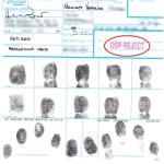 rejected fingerprints