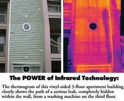 Thermal Scan Infrared Technology Orlando Home Inspection Services