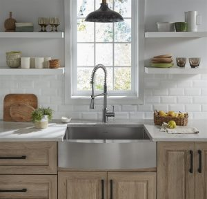 white kitchen | American Home Services | holiday ready Orlando