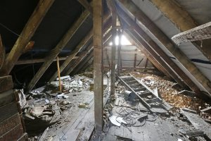 Disaster Attic | American Home Services | Attic Orlando