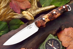 akc shenandoah black and scarlet elder burl ksf 329.95