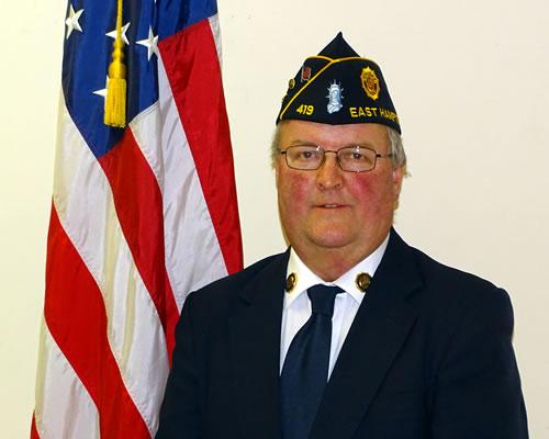 2015 Officers Bill Mott Commander American Legion East Hampton