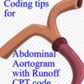 Abdominal Aortogram with runoff cpt code