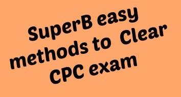 superb easy methods to clear CPC exam