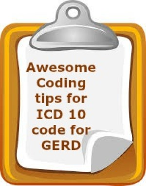 Killer tips for ICD 10 code for GERD