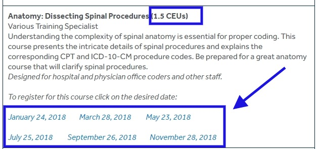 Free CEUs (Continuing Education Units) for AAPC Certified Medical coders