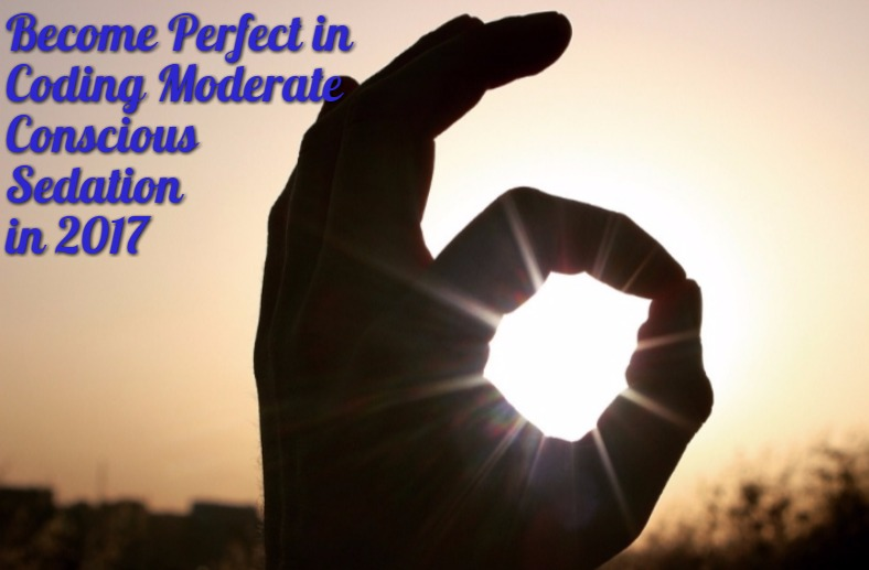 How to become Perfect in Coding Moderate Conscious Sedation