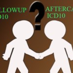 Difference between Aftercare and Followup ICD 10 codes