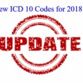 New ICD 10 Codes for 2018