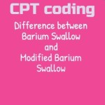 CPT code for Barium Swallow modified Coding guide