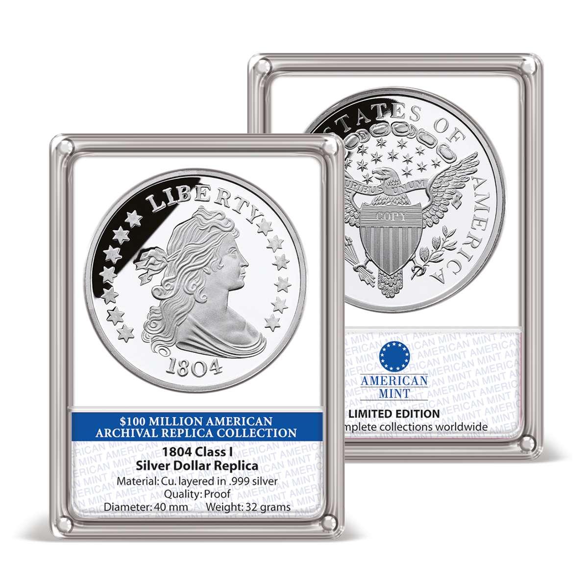 Class I Silver Dollar Replica Archival Edition