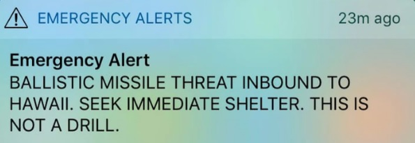"Nuke Alert, ""The 15 Minute Scenario"""