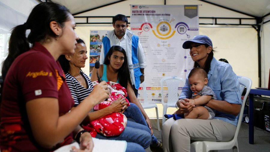 US Sends Aid To Venezuelan Refugees In Colombia