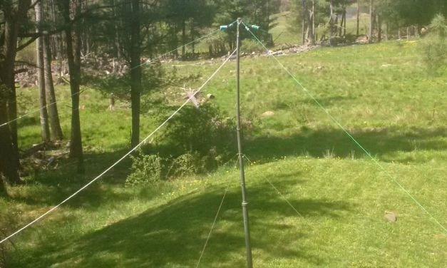 Home Brew – NVIS Antenna