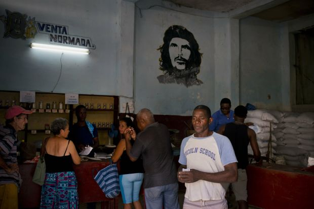 Amid shortage, Cuba to increase food rationing