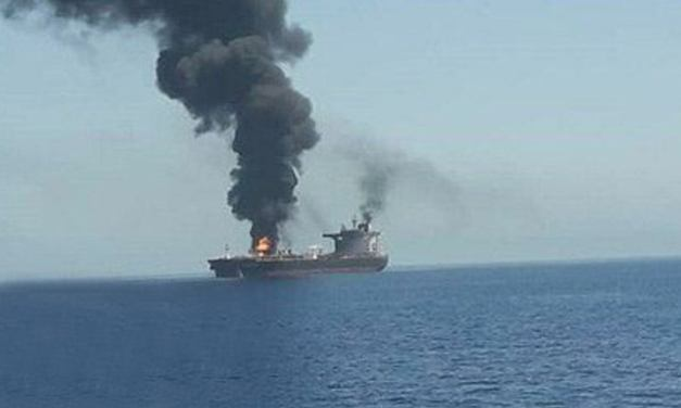 Two Oil Tankers Attacked In Persian Gulf