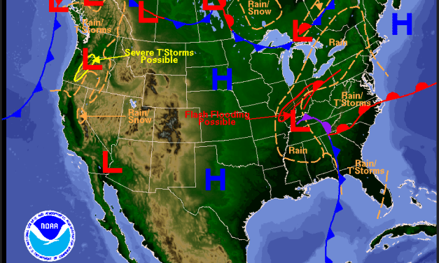 Basic Weather 101: Pressure and Fronts