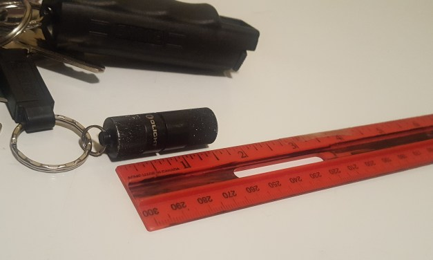 The OLIGHT I1R EOS: An EDC Keychain Flashlight That Packs a Punch