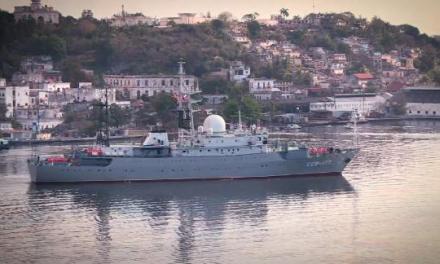 Russia's Viktor Leonov spotted off the coast of Charleston