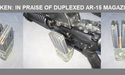 IN PRAISE OF DUPLEXED AR-15 MAGAZINES