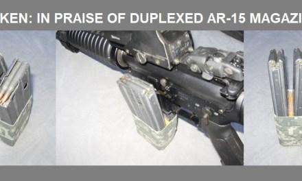 IN PRAISE OF DUPLEXED AR-15 MAGAZINES