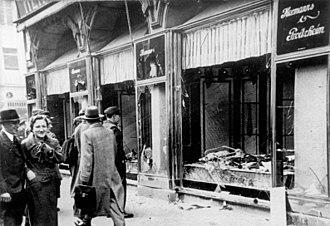 Kristallnacht – Kenosha, WI. People Shot