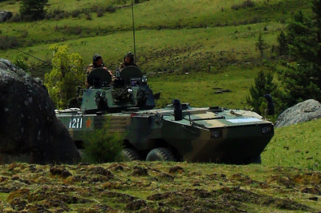 Armor: Chinese Stryker Brigade