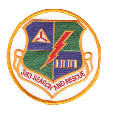 383 Search and Rescue Patch